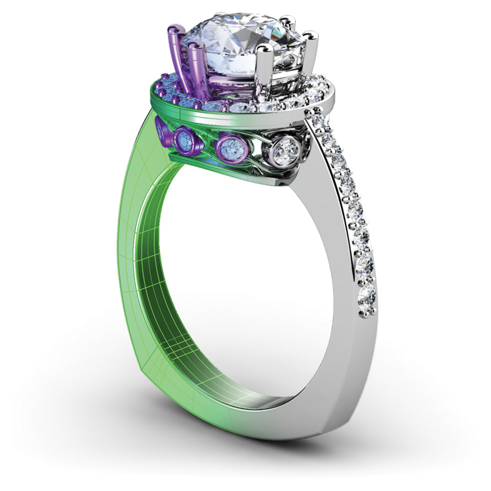 We design custom jewelry at Williams Jewelers - Denver, CO