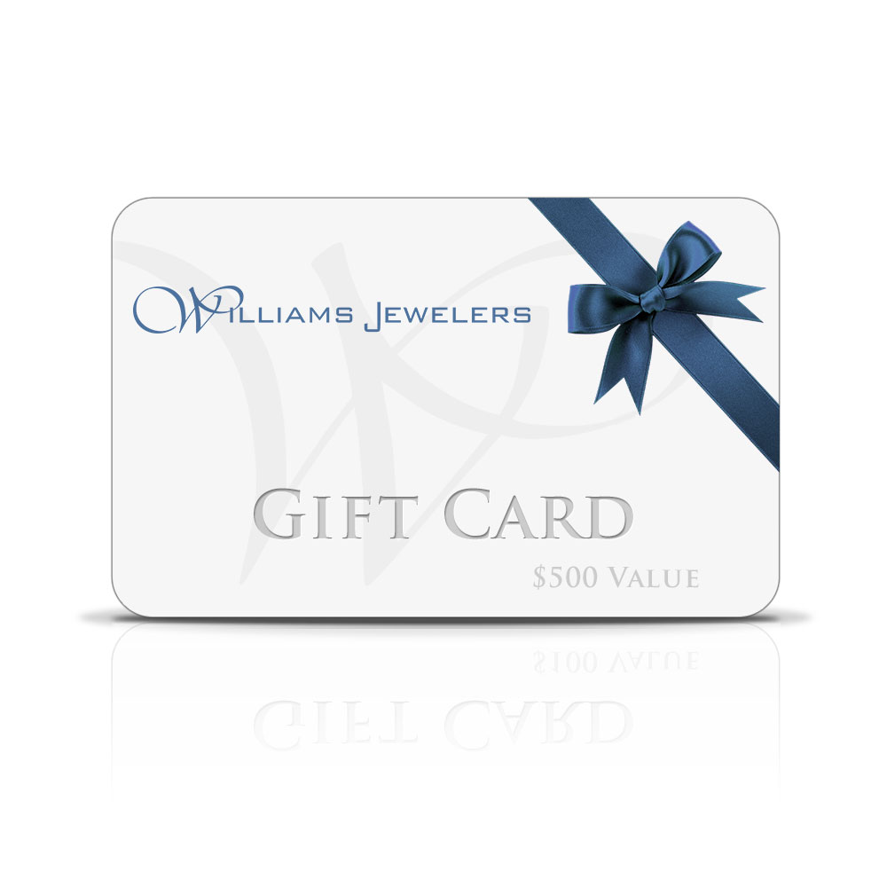 Gift Certificates and Giftcards available at Williams Jewelers - Denver, CO