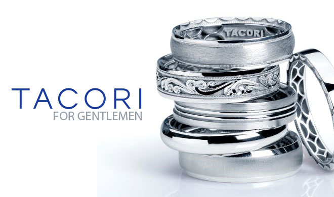 Tacori Gentlemen Bands