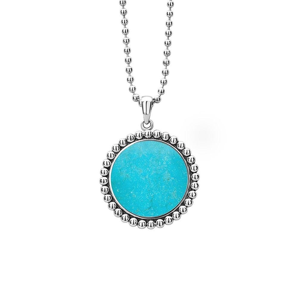 Turquoise Adjustable Pendant Necklace